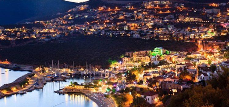 Kalkan by Night - Kalkan Turkey