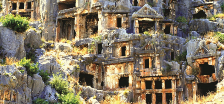 Lycian Sites Near Kalkan and Other Ancient Cities 04